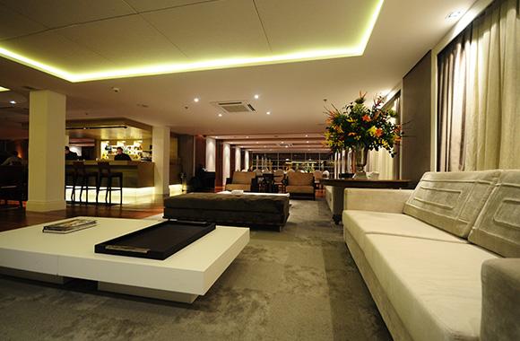 Sofas do lounge bar